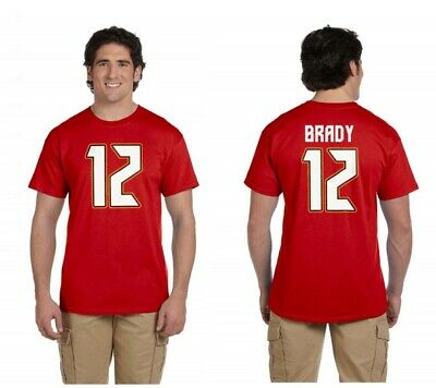 Tom Brady Tampa Bay Buccaneers Jersey Player T Shirt - MADE IN USA & SHIPS FREE!