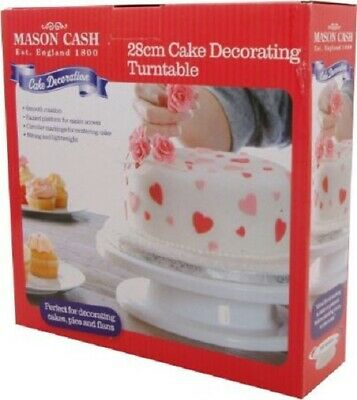Mason Cash 28 cm Cake Decorating Turntable in Gift Box [3145]