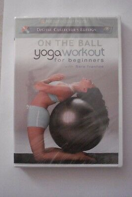 + On The Ball Yoga Workout For Beginners Dvd [New  Sealed] Aussie Seller