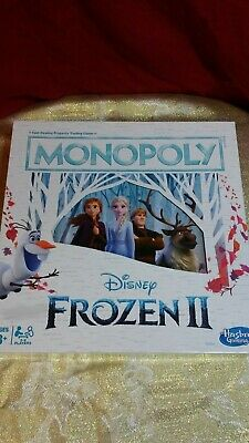 Monopoly Game: Disney Frozen 2 Edition Board Game for Ages 8 & Up New