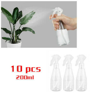 5pcs 100ml Clear Plastic Empty Spray Bottles Outdoors Carrying Gadgets