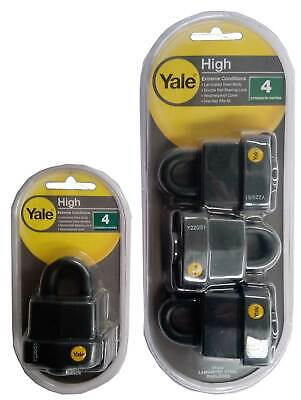 Yale 51mm Laminated Steel Padlock High Security For Extreme Conditions