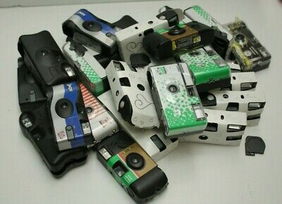 Lot 25x used Disposable OTUC 35mm Cameras