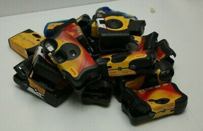 Lot 16x used Disposable OTUC 35mm Cameras