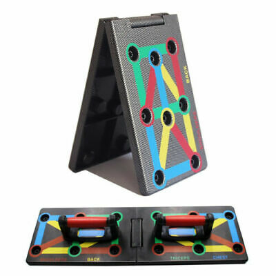 Foldable Power Press Push Up Board Push-up Stand Gym Fitness Body Training Gym c