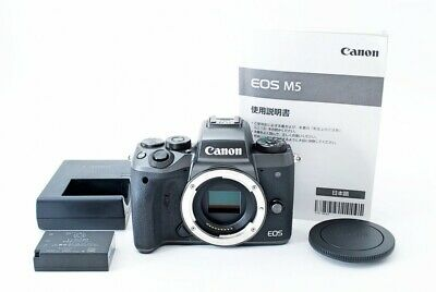 【Excellent】 CANON EOS M5 Body Black #558222