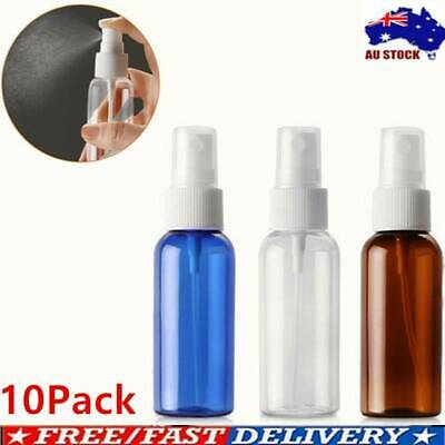 10x100ml Travel Portable Plastic Perfume Atomizer Empty Spray Bottle Makeup #mil