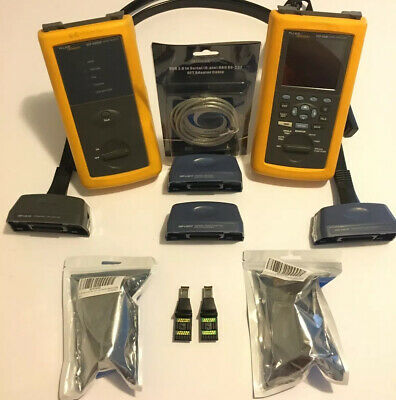 Fluke DSP-4300 CAT6 Digital cable certifier Analyzer
