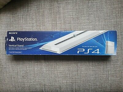 Sony Official PlayStation 4 PS4 Vertical Stand GLACIER WHITE - Boxed - Excellent
