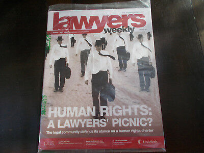 7x Professional Law Journals - Lawyers Weekly 2009 - current topics