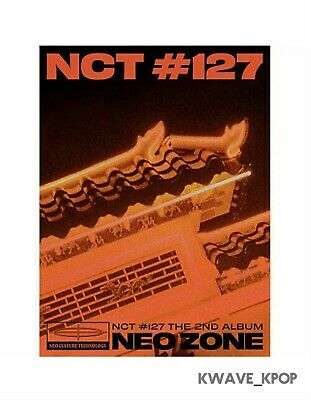"[Nct #127 Neo Zone] 2Nd Album ""T"" Version K-Pop Sealed New Album Poster On Pack"