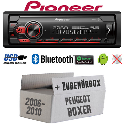 Pioneer Radio for Peugeot Boxer from 2006 Bluetooth Spotify USB Android