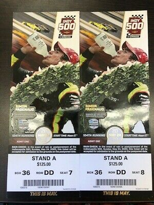 indy indianapolis 500 tickets