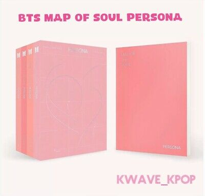 Bts Map Of The Soul Persona Album Select Version 3 /4-Kpop New Sealed+Tracking