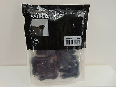 Ikea Patrull Desk Table Corner Bumper Black Hand Child Safety 8 Pack-NEW IN BAG