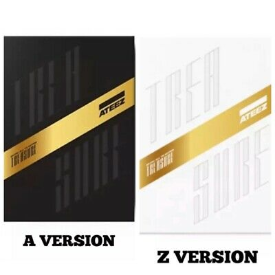 Ateez [Treasure Ep.fin:all To Action] 1St Album Select A/Z Ver. Kpop Sealed Cd