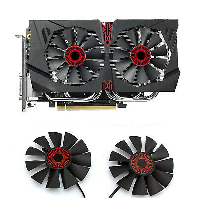 75mm Video Card Cooler Fan Replacement 42mm 4Pin PLA08015S12HH DC 12V 0.35A R96b