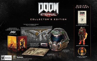 DOOM Eternal Collector's Edition * PlayStation 4 * Brand new, In Hand * PS4 2020