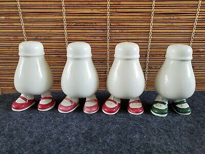 Carlton Ware Walking England (4) Shakers Feet