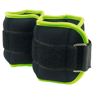 Urban Fitness Home Gym Training Exercise Ankle/Wrist Weights - 0.5kg