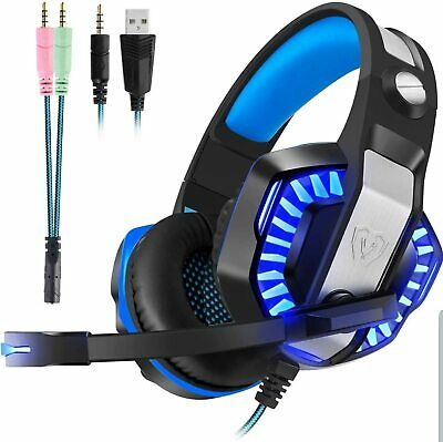 Pro Stereo Surround Live Gaming Chat Headset For PS4 Wii XBOX One Switch RARE!!!