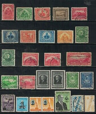 Haiti - 27 Stamps - MH and Used