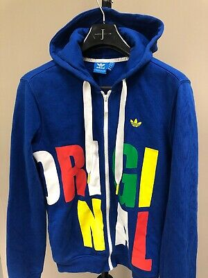 Womens/girls Adidas Originals Trefoil Hoodie Tracksuit Top Sports Training Gym 8