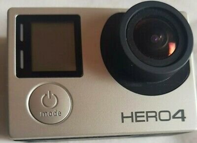 GoPro Hero4 silver Camcorder +64 GB SanDisk extreme +new battery + accessories