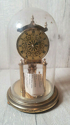 Genuine Kundo (Kieninger & Obergfell) Midget 400 day Anniversary Clock with Glas