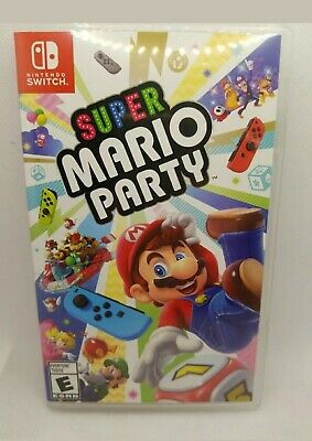 Super Mario Party CASE/Artwork ONLY for Nintendo Switch, NO GAME
