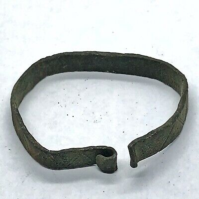 800-1100 AD Norse Viking Authentic Ancient Bracelet Artifact Antiquity Relic /