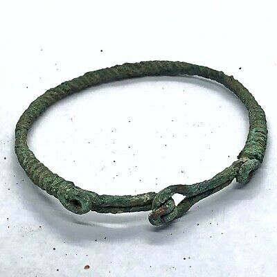 RARE Authentic Ancient 800-1100AD Norse Viking Bracelet Artifact Antiquity Old !