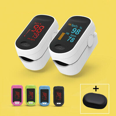 Medical Digital Pulse Oximeter LED Oximetro blood oxygen Heart Rate Monitor