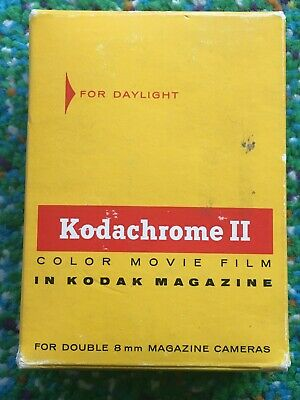 Kodachrome II Double 8mm Color Movie Film Daylight 25ft Sealed Exp 05/69 SEALED
