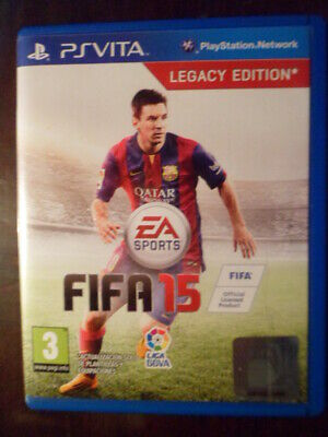 FIFA 15 PS Vita fútbol football soccer EA Sports en castellano Playable English