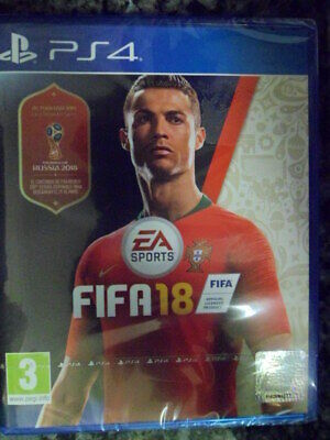 FIFA 18 PS4 Nuevo World Cup Cristiano Ronaldo Fútbol Football Soccer castellano.