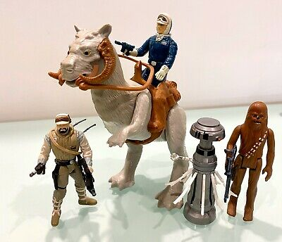 Vintage Star Wars Hoth Taun Taun & Figures Excellent Lot Loose