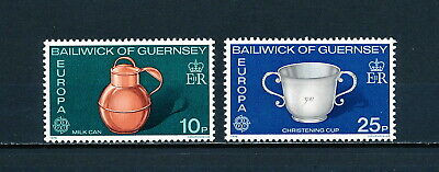 Guernsey 135-6  MNH, Cup 7 & Can, 1976