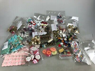 Vintage Sewing Needs - Buttons - Approx. 200 - All Sorts A Few Modern As Well