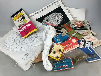 Vintage Sewing Needs - Mixed Lot See Pictures - Unfinished Item ++++