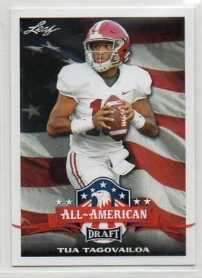 2020 Leaf Draft Football All-American Subset Base Version XRC RC Pick Your Card