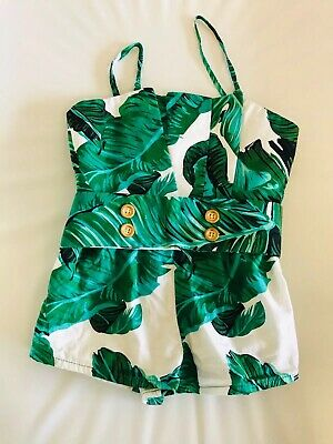 C & Boo Girls Playsuit Size 1 12-18months
