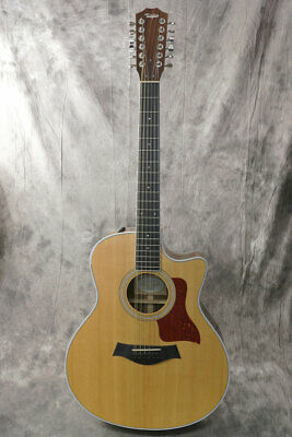 Used Taylor 456ce ES2 Acoustic Guitar From Japan