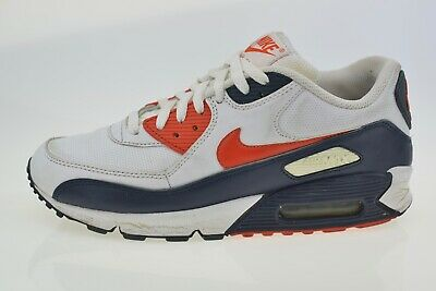 NIKE AIR MAX 90 Ltr 309299 124 Men's Trainers Size Uk 8