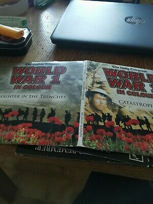 World War 1 in colour Catastrophe & Slaughter in the trenches dvd's promo