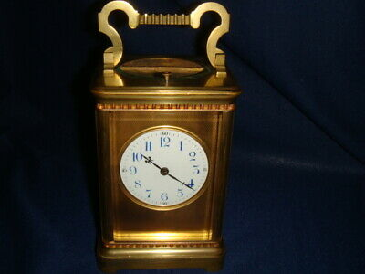 French Carriage clock repeater, petite sonnerie
