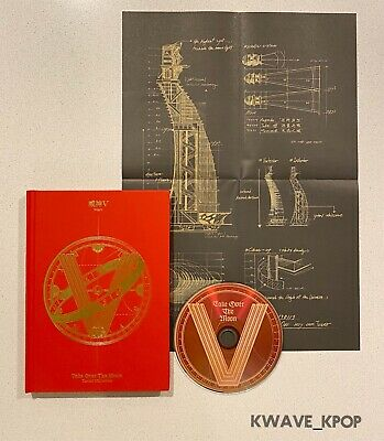 Way V [Take Over The Moon] Kpop New Cd Album Unsealed [No Photo Cards] +Tracking