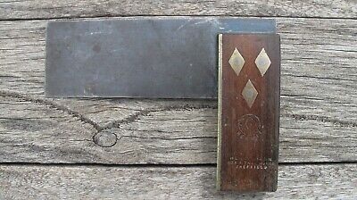 Vintage  Hermit Henry Dixon  Hermitage Sheffield  Set Try Right Angle  Square