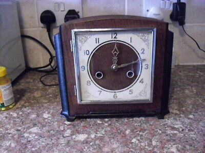 option of ONE of 5  vintage 1930s/40s  chiming clocks REDUCED to £ 60