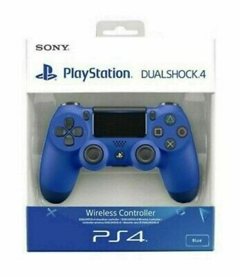 Sony PS4 DualShock 4 V2 Wireless Controller Wave Blue Brand New Sealed Official